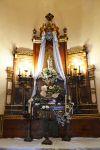 Altar principal ubicat a l'absis de la capella.