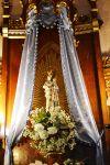 Detall de la Mare de Déu de la Salut.