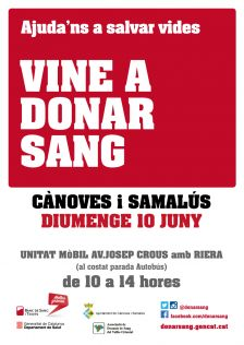cartell campanya de sang