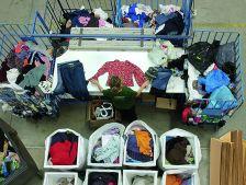Humana Fundación Pueblo a Pueblo ha recuperat 7.368 kg de tèxtil usat a Cànoves i Samalús al 2017.