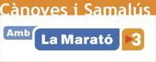 Imatge de la Marató de TV3 a Cànoves i Samalús