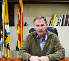 Josep Cuch i Codina.  Alcalde de Cànoves i Samalús.